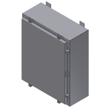 S-Series-Single Door-Aluminum-Type-4X-Wallmount