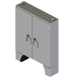 "Steeline ""SM-Series"" Floor Mount Type 4 & 4X Non-Disconnect Enclosure"