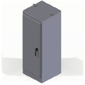 """Steeline """"SS-Series"""" Free Standing Type 4 & 4X Non-Disconnect Enclosure"""
