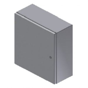 "Steeline ""SW"" Series Single and Double Door Type 4 & 4X, Wall Mount Enclosure (Quarter Turn Latch)"