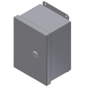 "Steeline Continuous Hinge ""SJB"" Junction Box Type 4 & 4X with Quarter-Turn Latch"