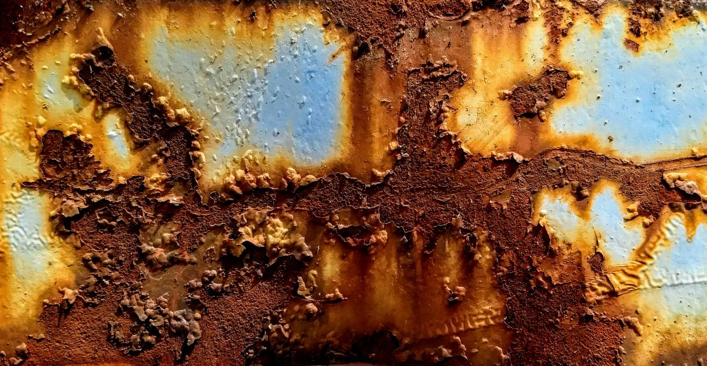 Corroded metal